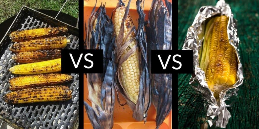 3 Methods of Grilling Corn On The Cob