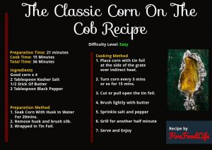 The Classic Corn On The Cob Recipe