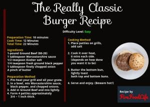 The Really Classic Burger Recipe